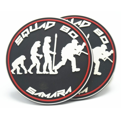 PVC patch for paintball ape man