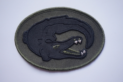 Embroidery patch Crocodile