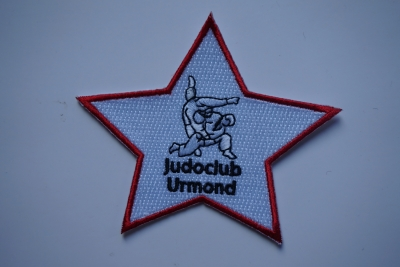 Embroidery patch Judo