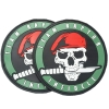 PVC patch skull Tactical