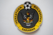 Flocking patch Sarawak football