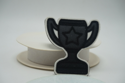 Flocking patch Cup