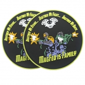PVC patch for paintball Magfeo