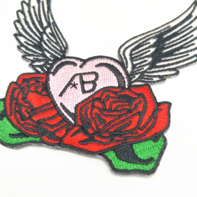 Iron on patches flower/rose