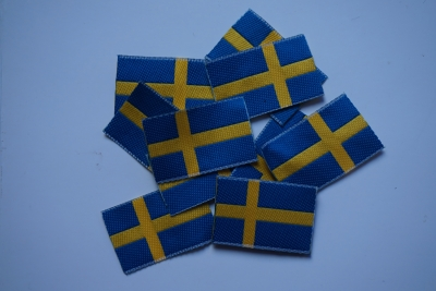 Embroidery patch Sweden