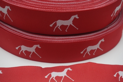 25mm horse ribbon